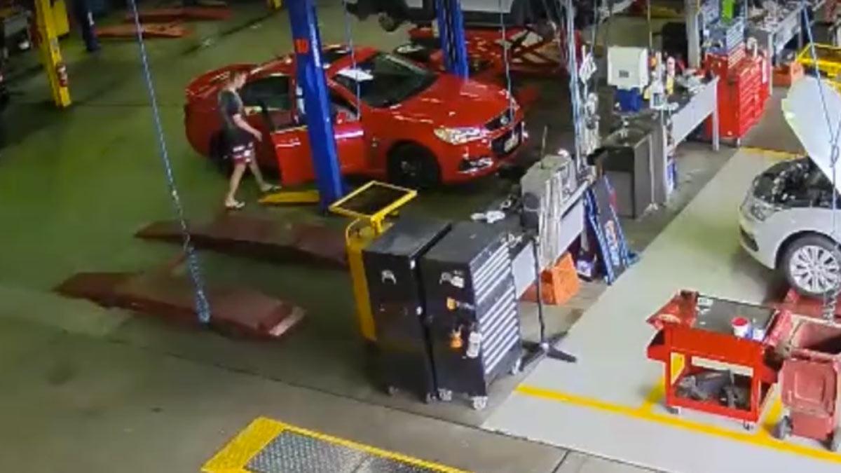 robar coche taller