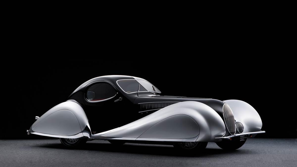Talbot-Lago T150-C SS 'Goute d'Eau' Coupé by Figoni et Falaschi
