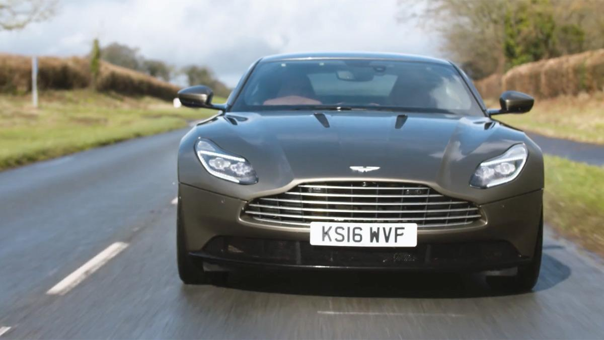 Chris Harris conduce el Aston Martin DB11 (I)