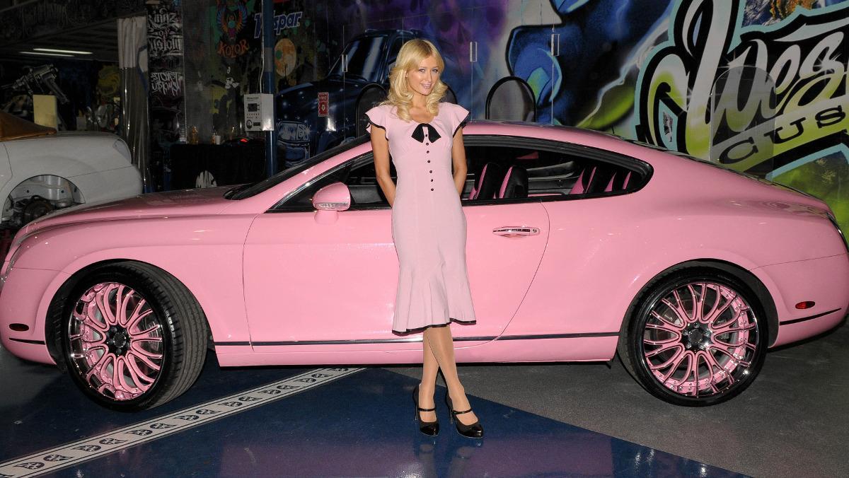 Los coches de Paris Hilton