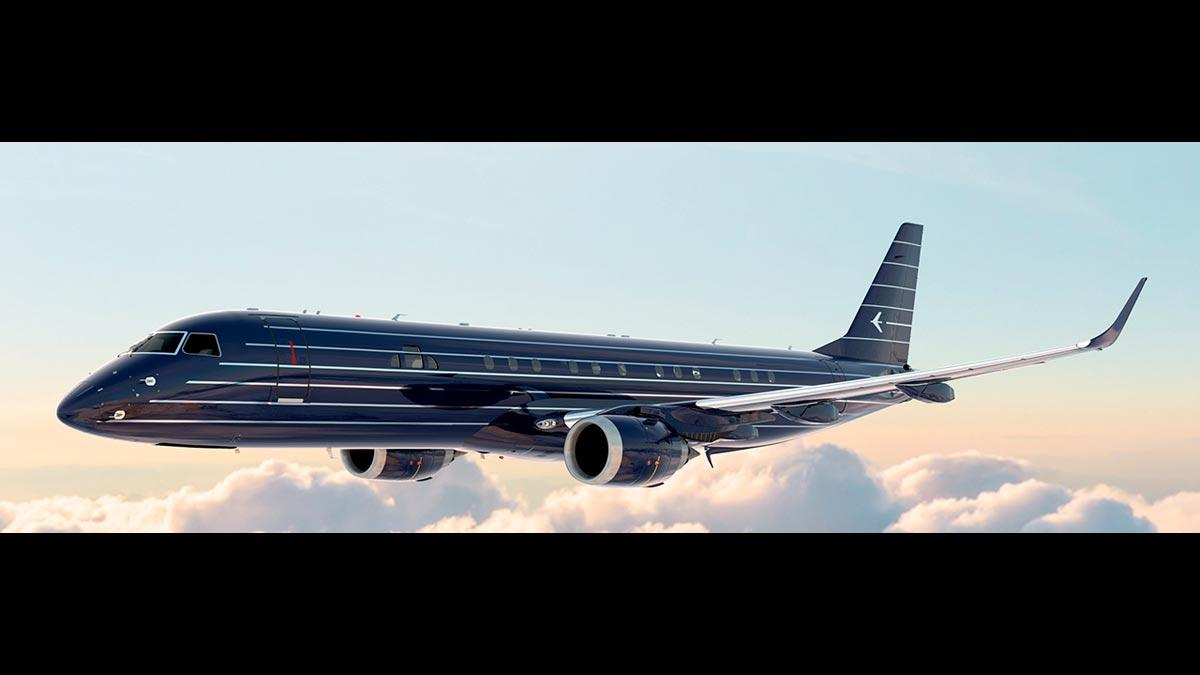 Embraer Lineage 1000E Manhattan