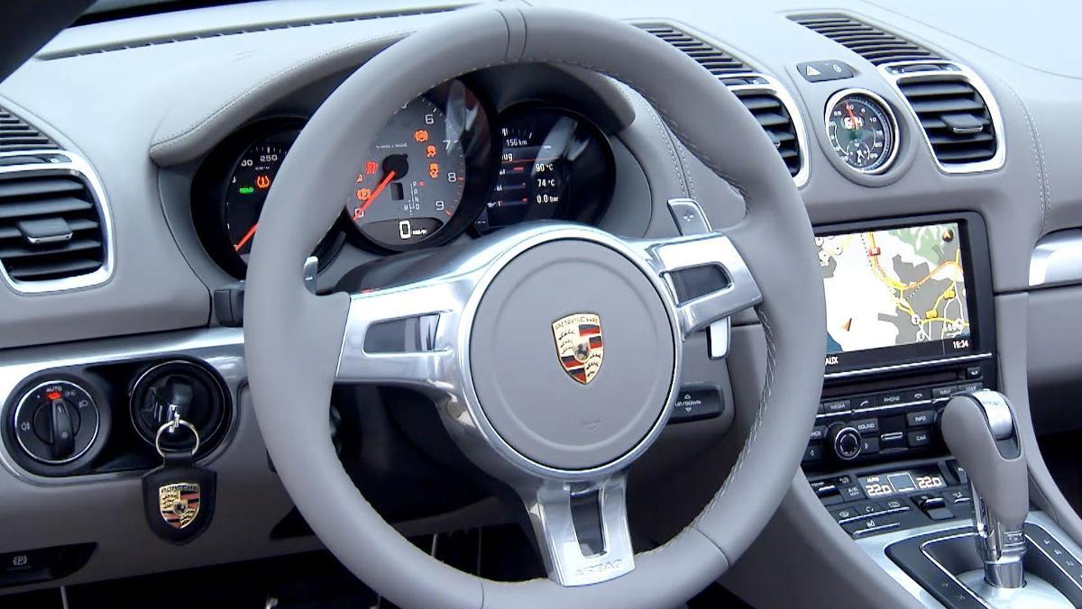 Llave de Porsche
