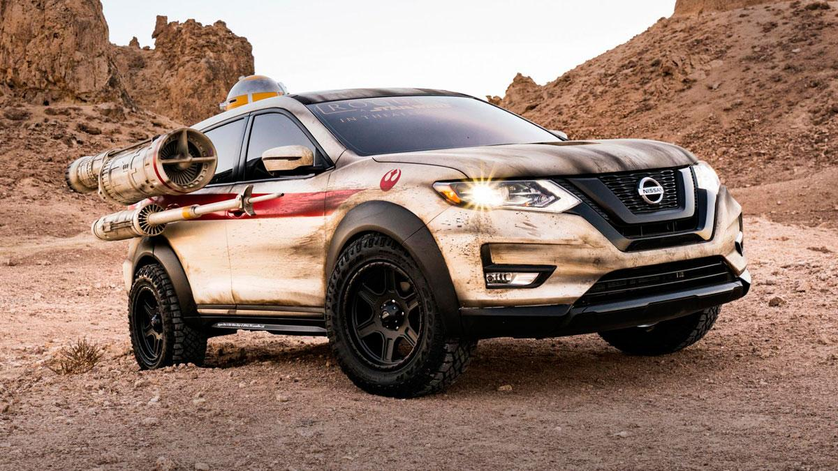Nissan Rogue One Star Wars limited nueva york prototipo
