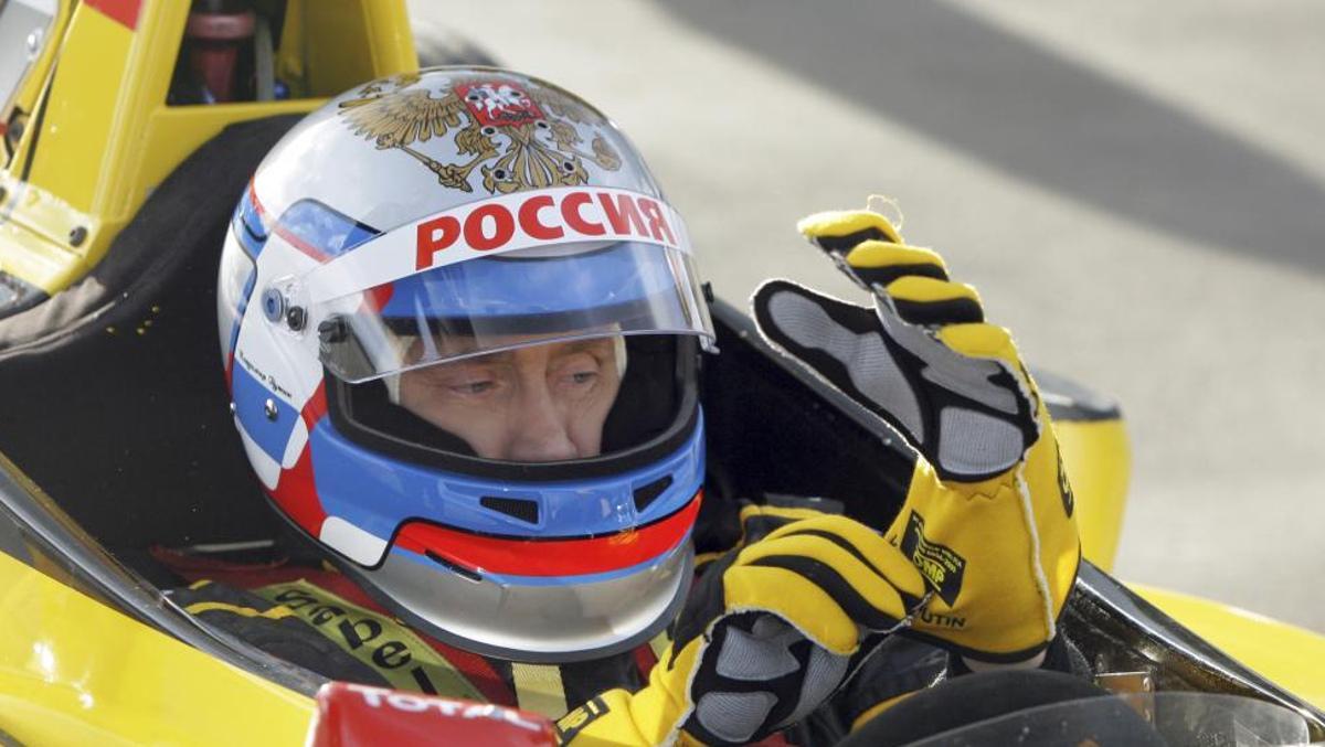 Putin en un F1