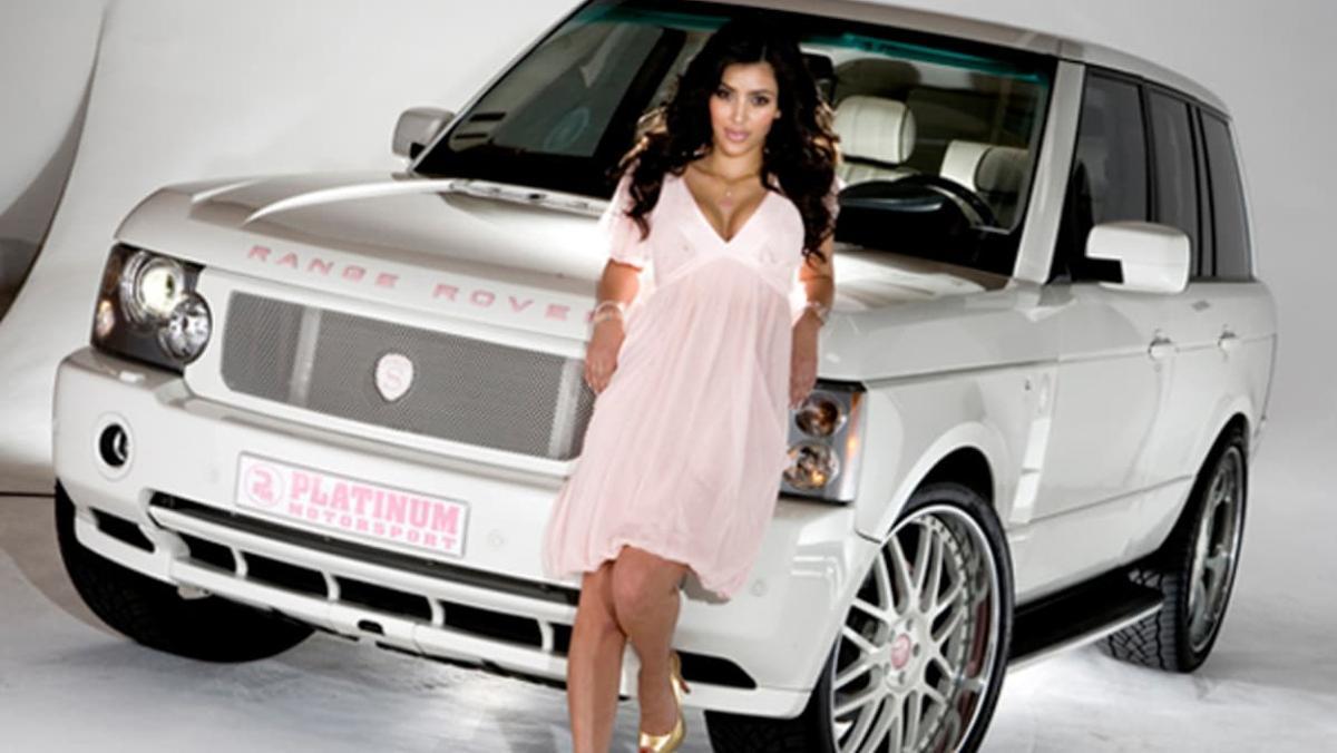 Los exhuberantes coches de Kim Kardashian