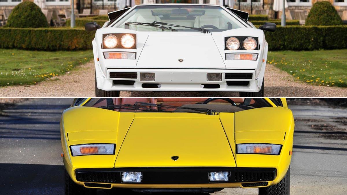 Subasta Lamborghini Countach