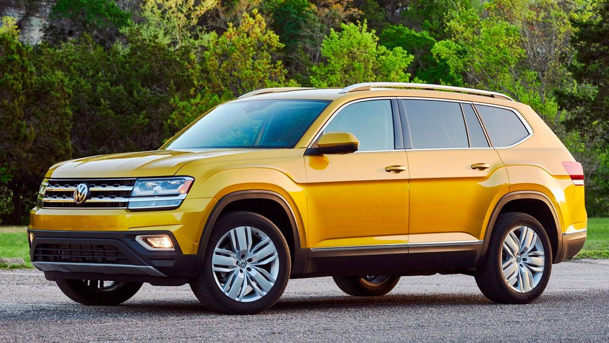 Volkswagen Atlas coches usa