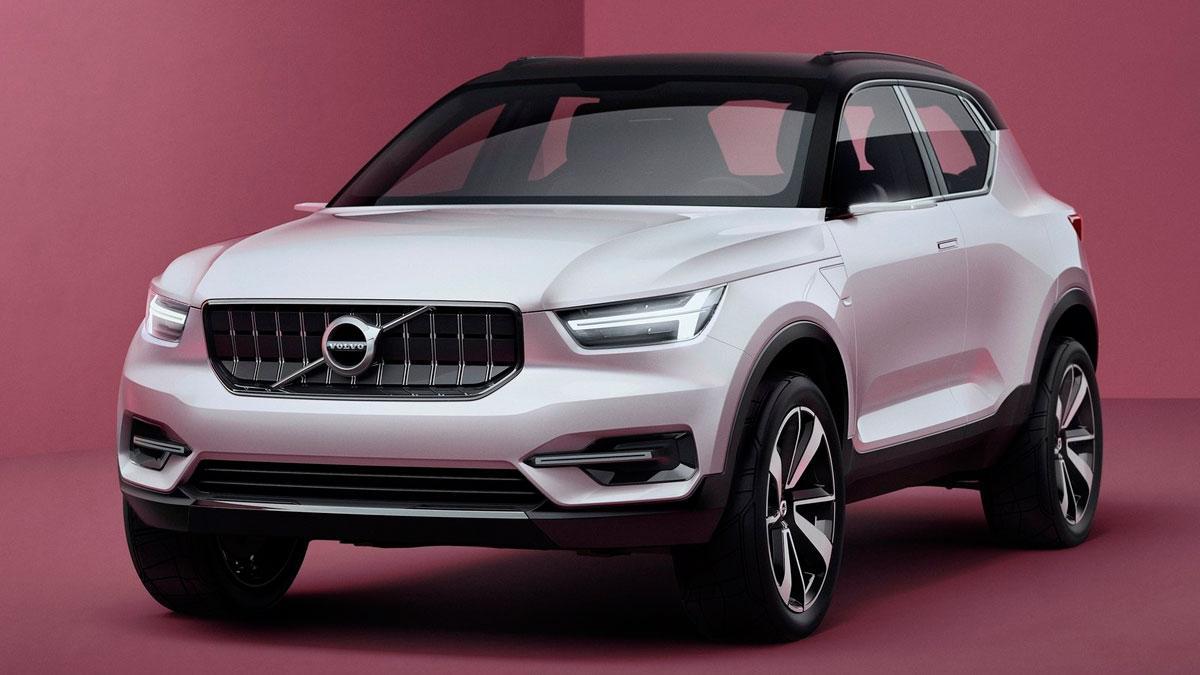 Volvo 40.1 Concept prototipo SUV