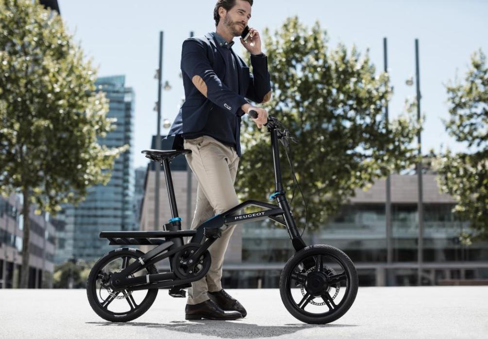 La bicicleta eléctrica eF01 de Peugeot