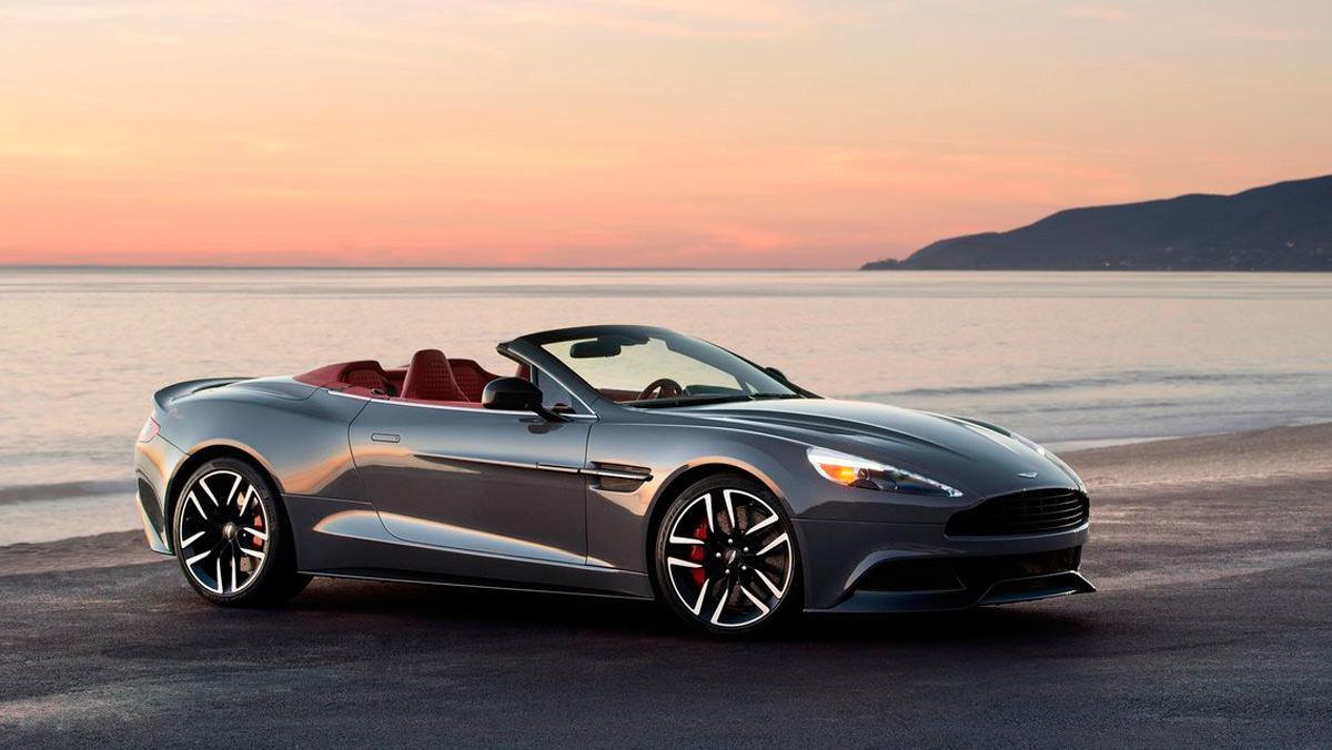 Mejores descapotables: Aston Martin Vanquish S Volante (II)