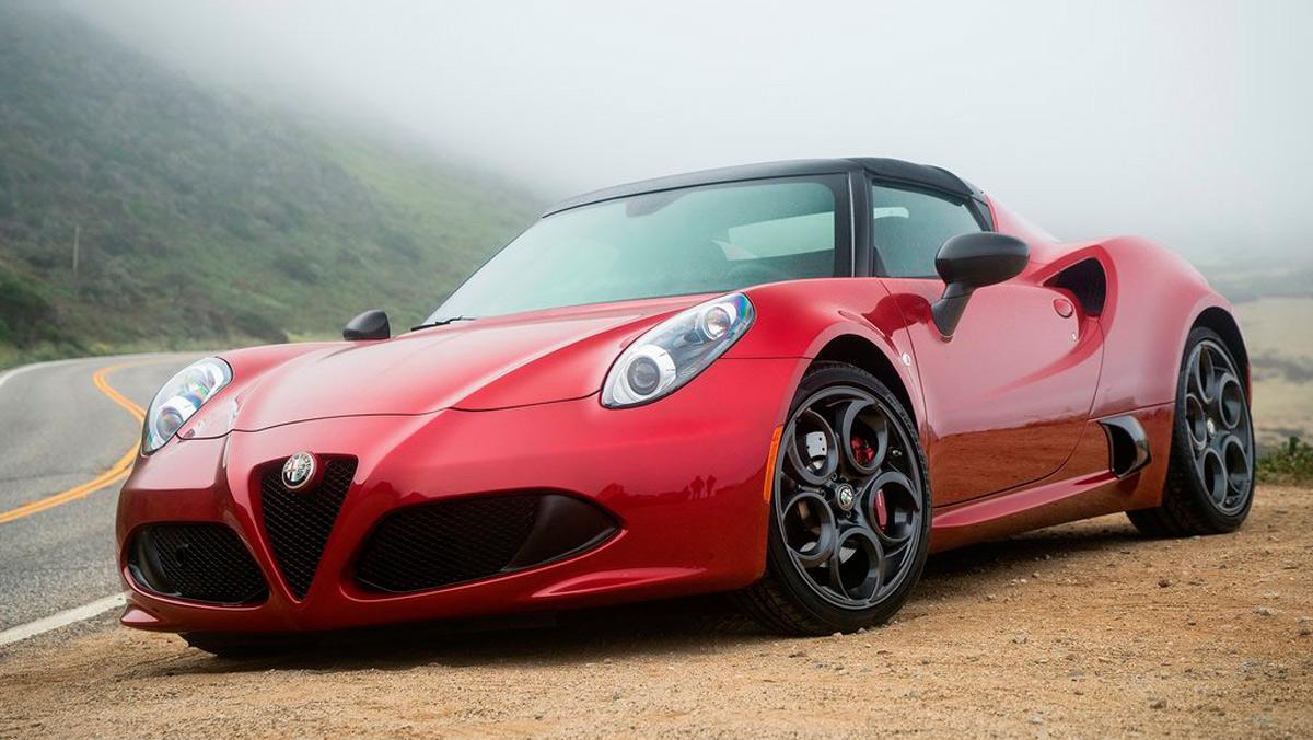Coches para súperheroes: Alfa Romeo 4C Spider (I)