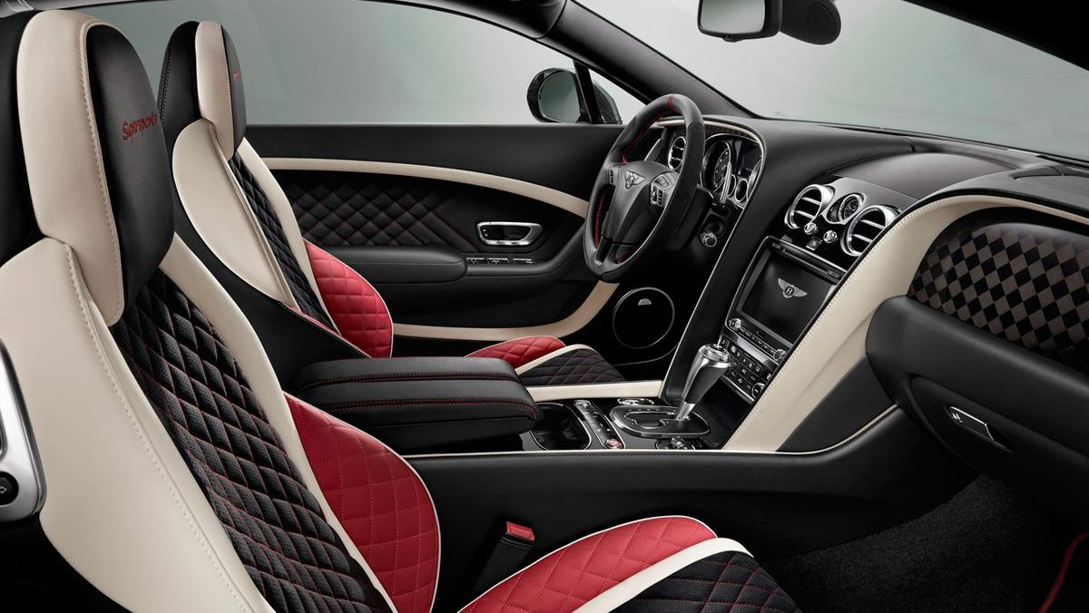 Bentley, interior