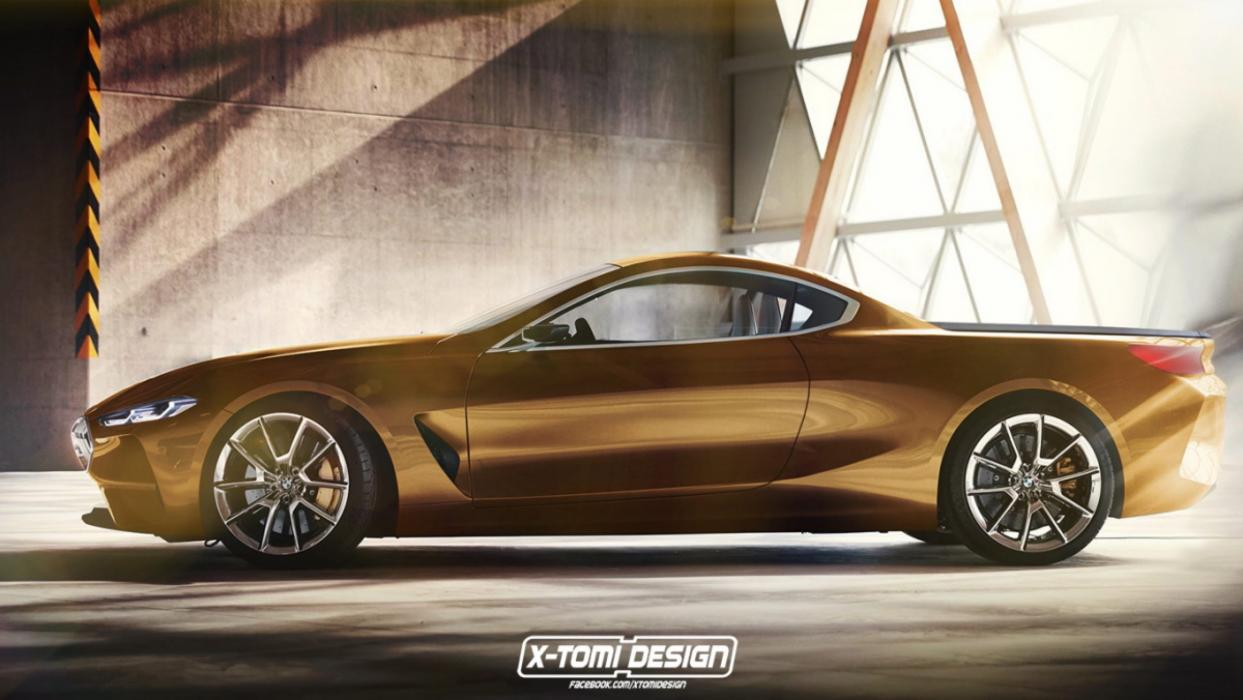 BMW Concept 8 pick up