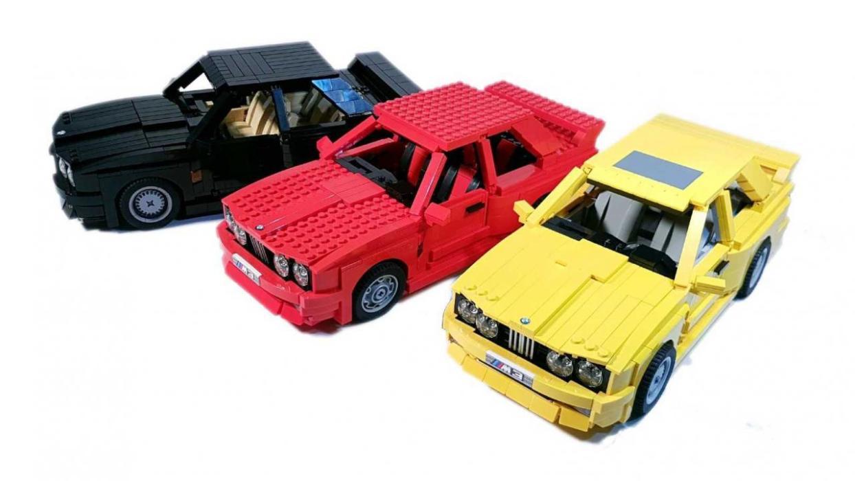 BMW M3 E30 Lego colección