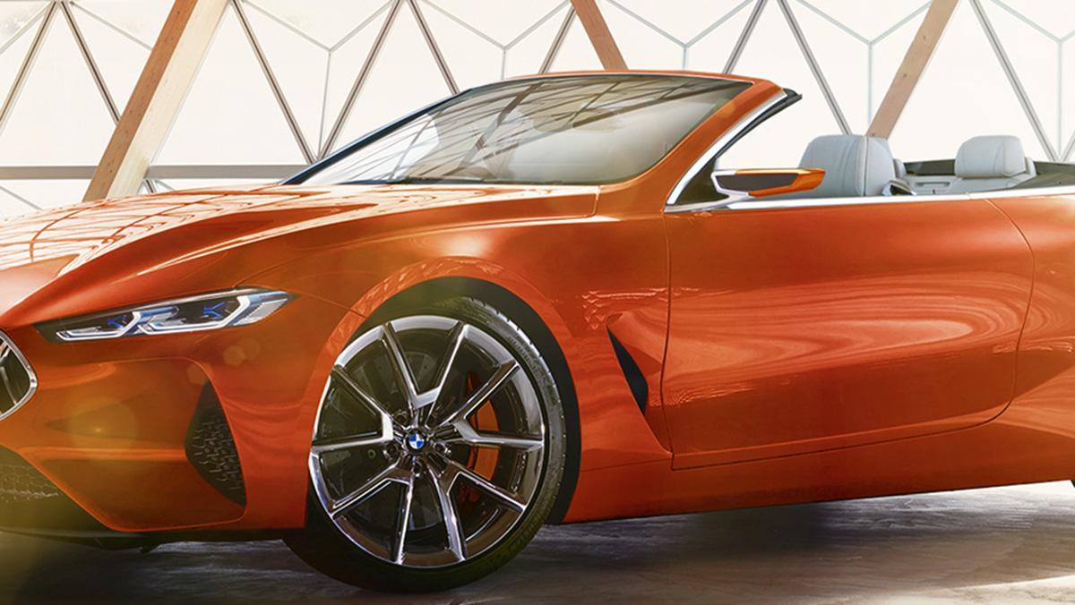El BMW Serie 8 Concept descapotable de X-Tomi
