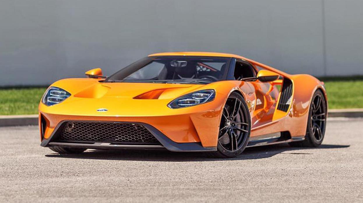 Colores del Ford GT: naranja