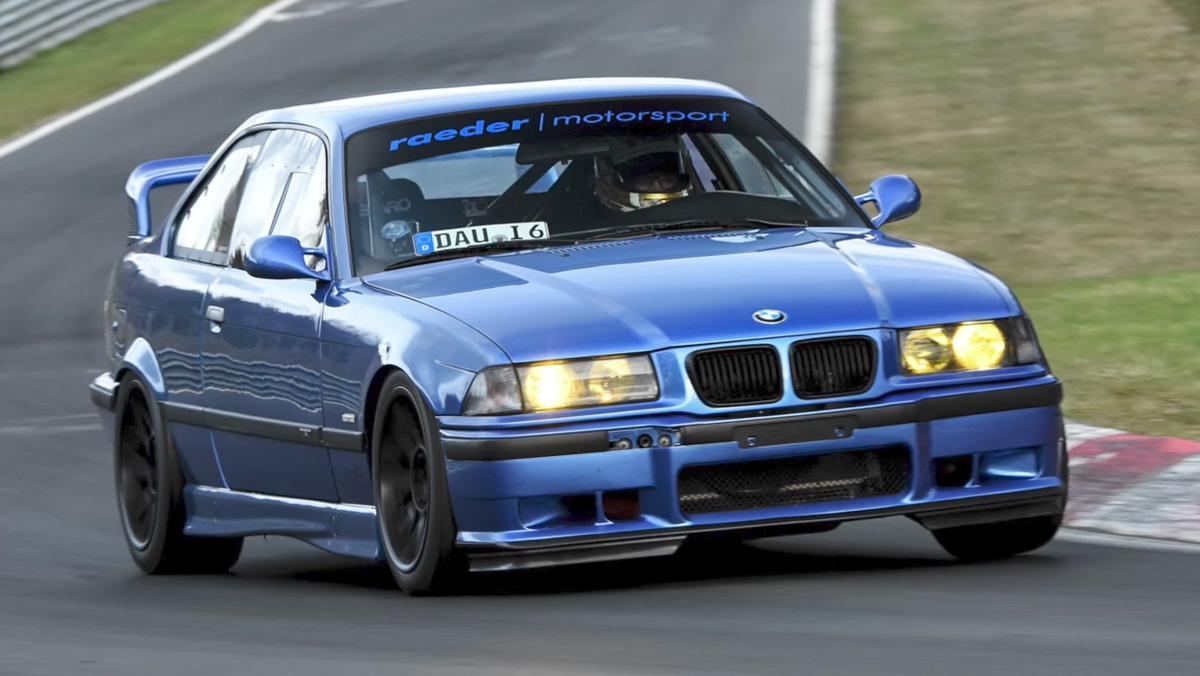 La espectacular vuelta a Nürburgring del M3 E36 más rápido