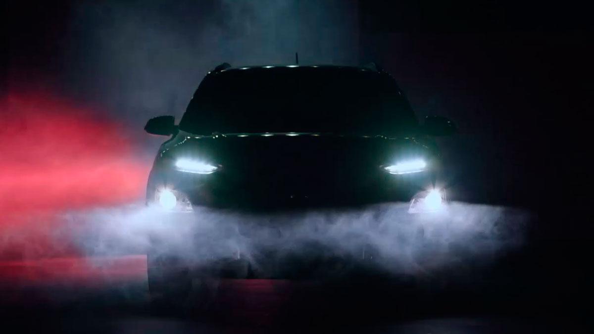 Hyundai Kona frontal led faros