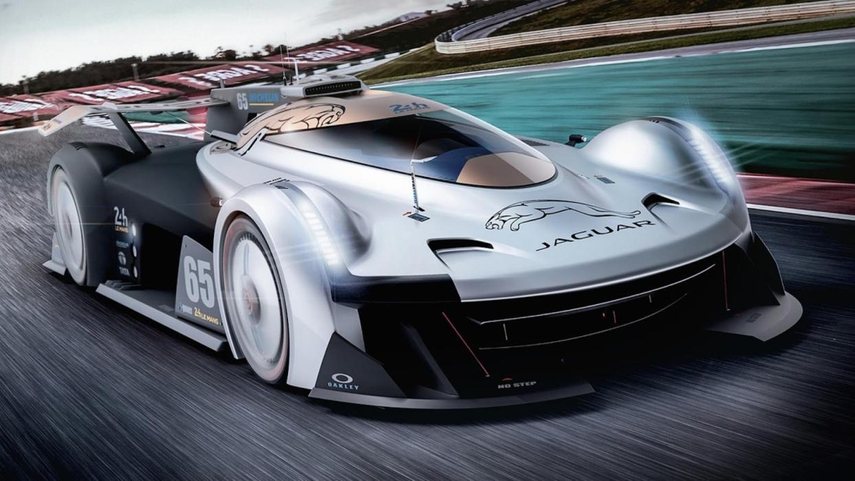 Jaguar SS 107 Le Mans (I)