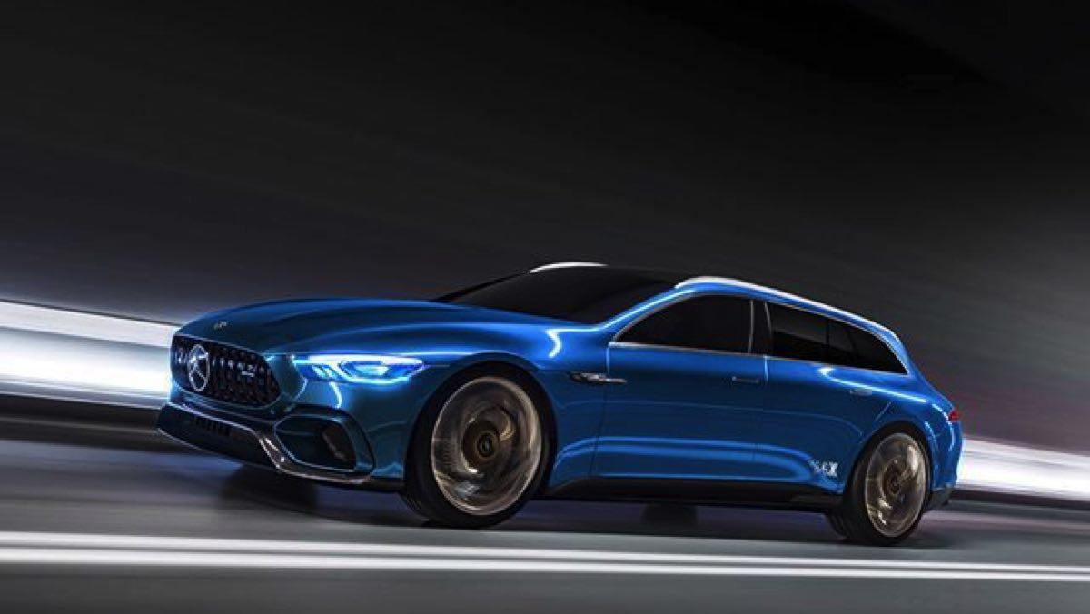 Mercedes-AMG GT Shooting Brake Concept