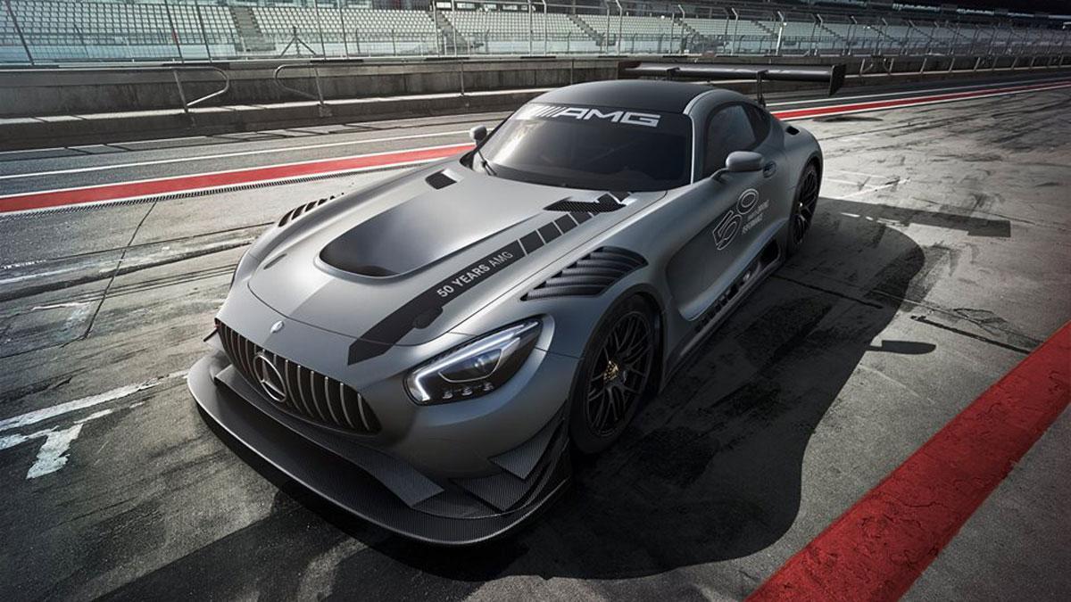 Mercedes-AMG GT3 50 Aniversario deportivo competición circuito