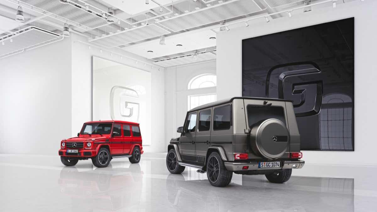 Mercedes Clase G edición especial