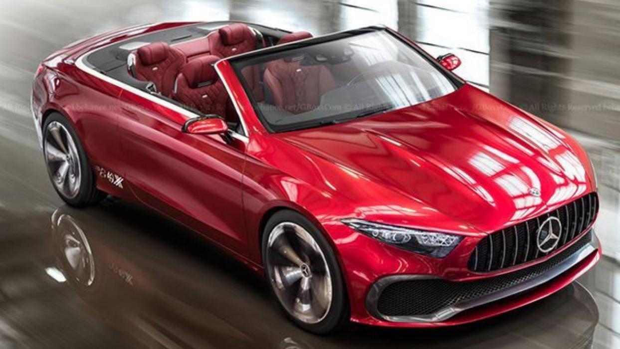 Mercedes Concept A cabrio