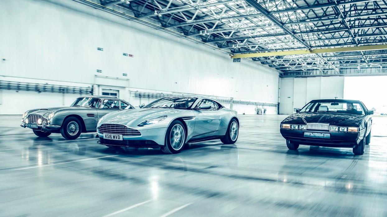 Nuevo hangar de Aston Martin (I)