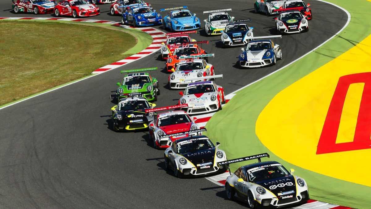 Porsche 911 GT3 Cup, primera carrera en Montmeló