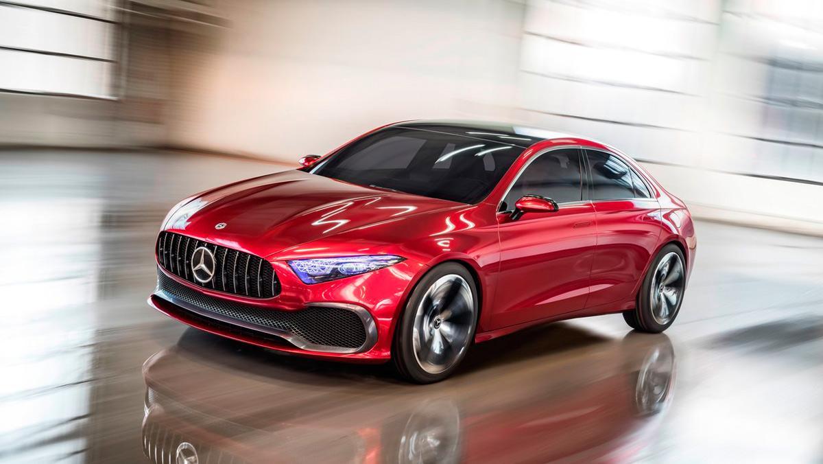 Rivales Mercedes Clase A Concept (I)