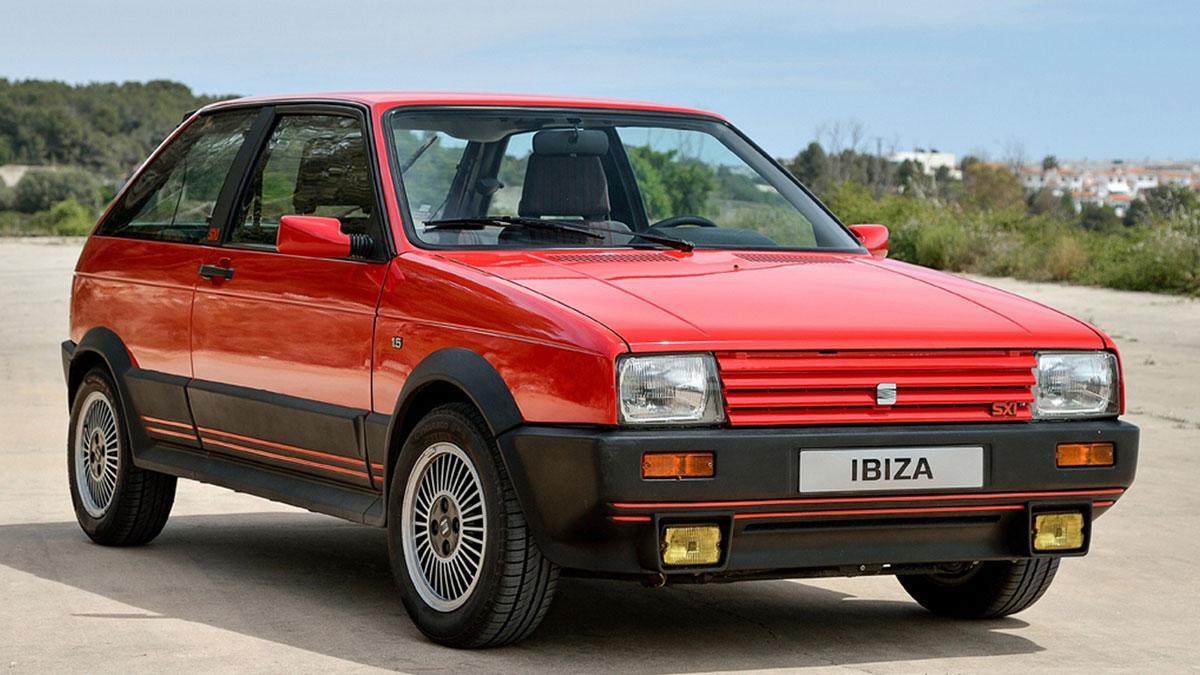 Seat Ibiza SXI utilitario deportivo viejas glorias