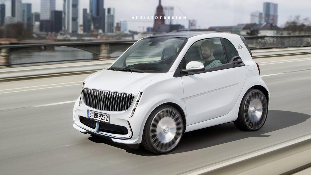 Smart Maybach Peisert Design render