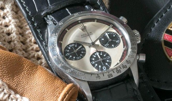 A subasta el reloj Rolex Daytona de Paul Newman