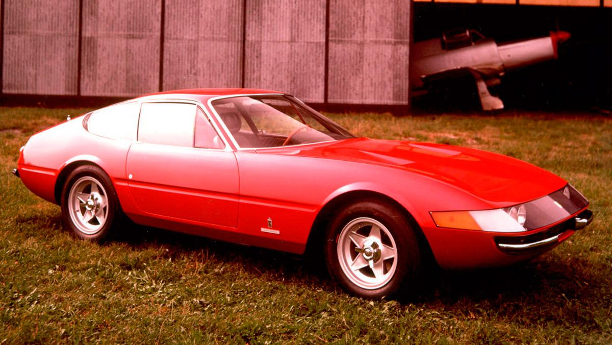 Nombres de modelos Ferrari: Ferrari Daytona (II)