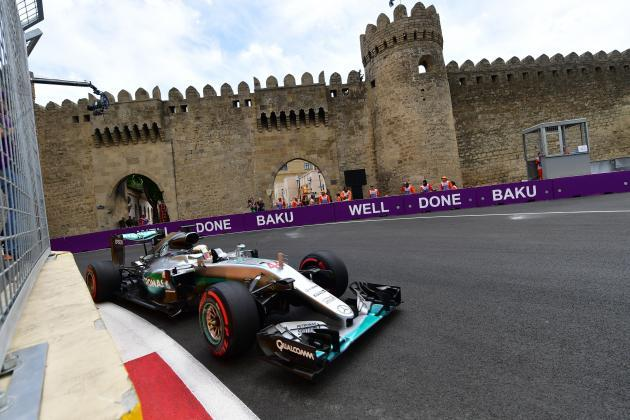 Horarios GP de Bakú