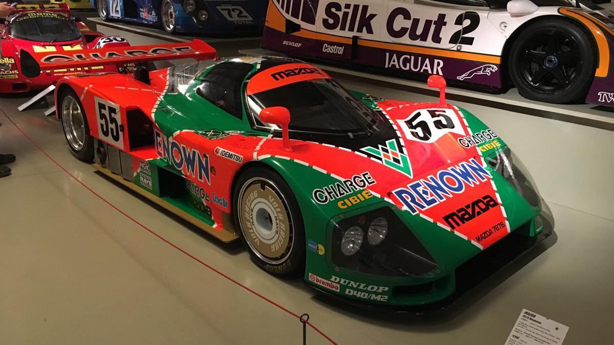 Museo de las 24 horas de Le Mans deportivos competición lujo altas prestaciones