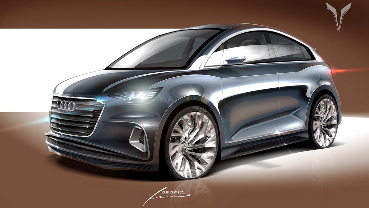 El regreso del Audi A2... en forma de renders