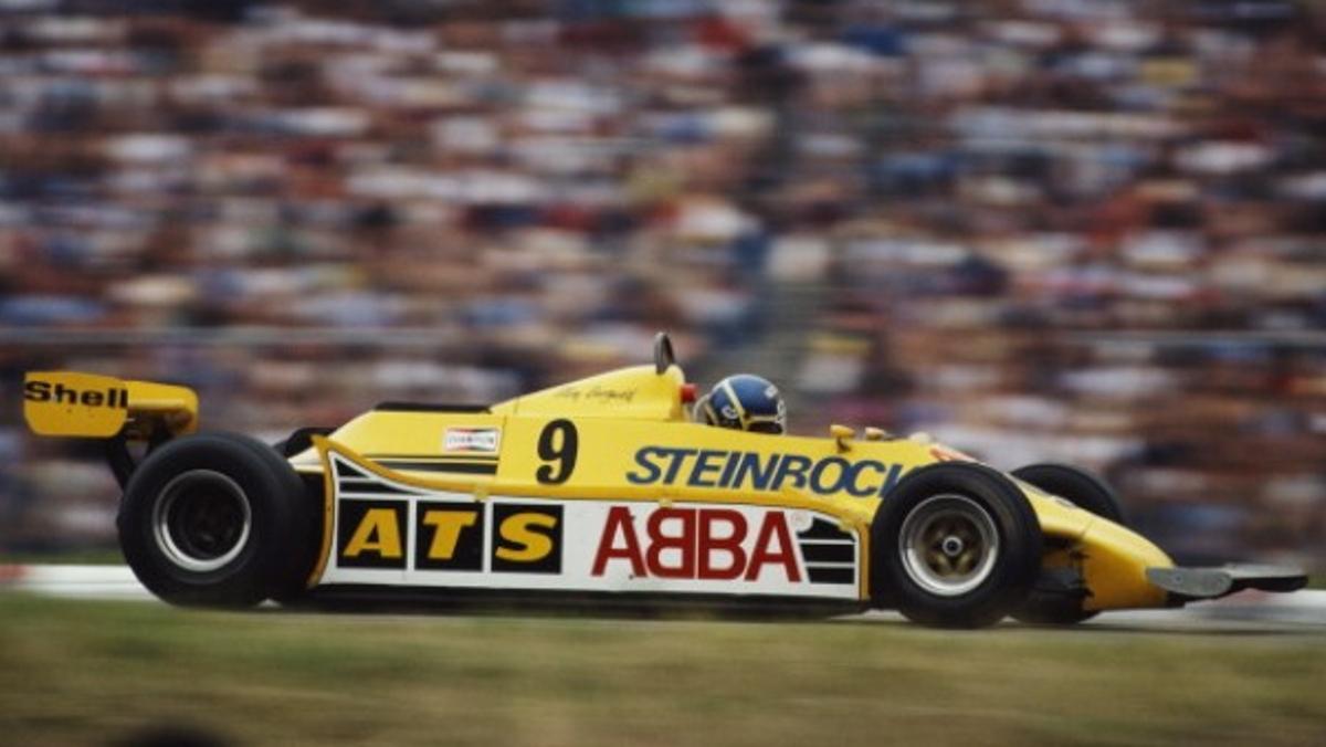 ABBA en la F1 de la mano de su batería Slim