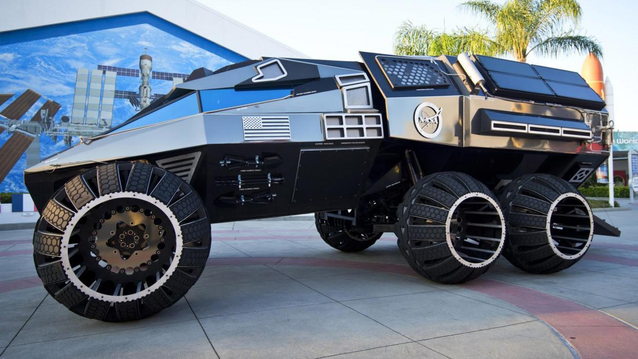 Coche de la NASA: Mars Rover concept