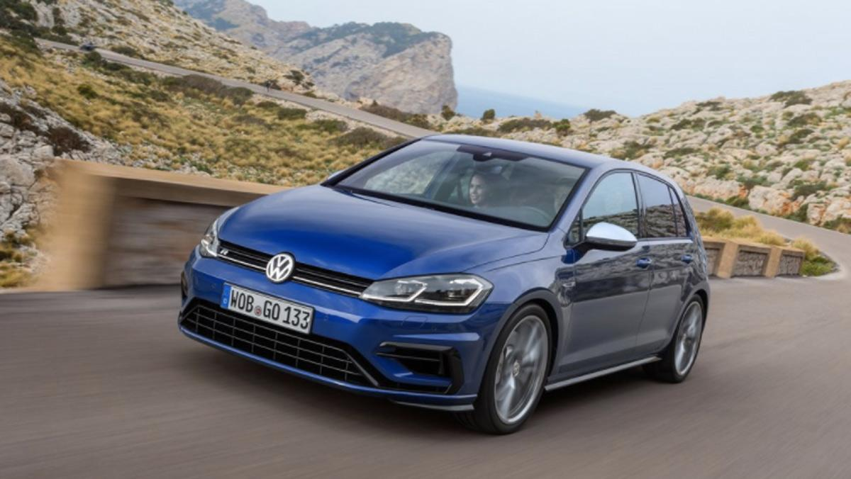 Coches para aprender a conducir con cambio manual: VW Golf R (I)