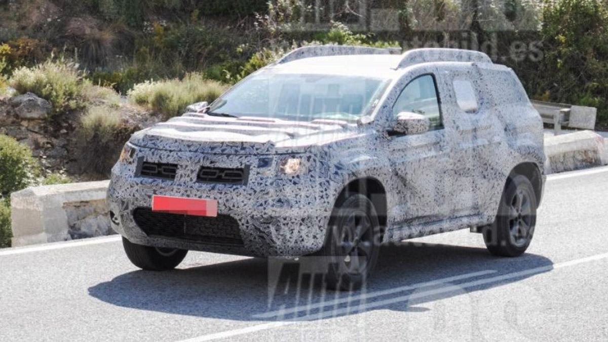 Dacia Duster 2019: primeras fotos espía