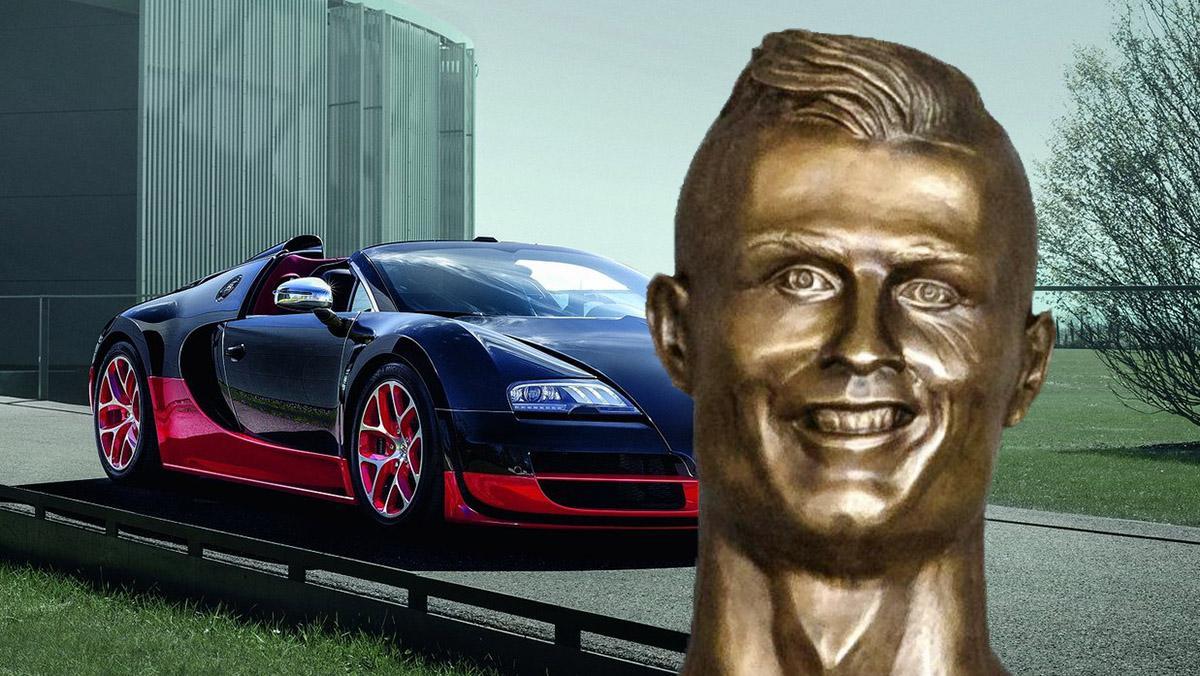 Los coches de los mejores futbolistas del mundo