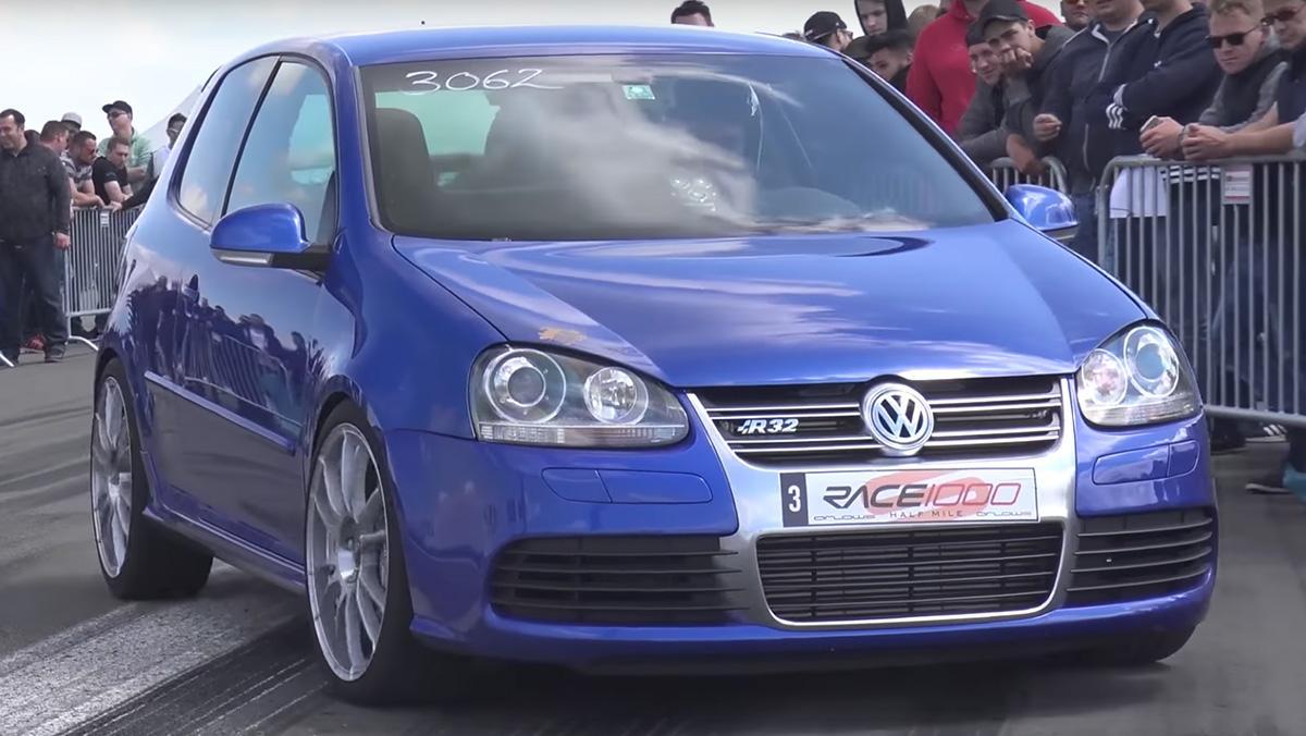Un Volkswagen Golf R32 con 660 CV