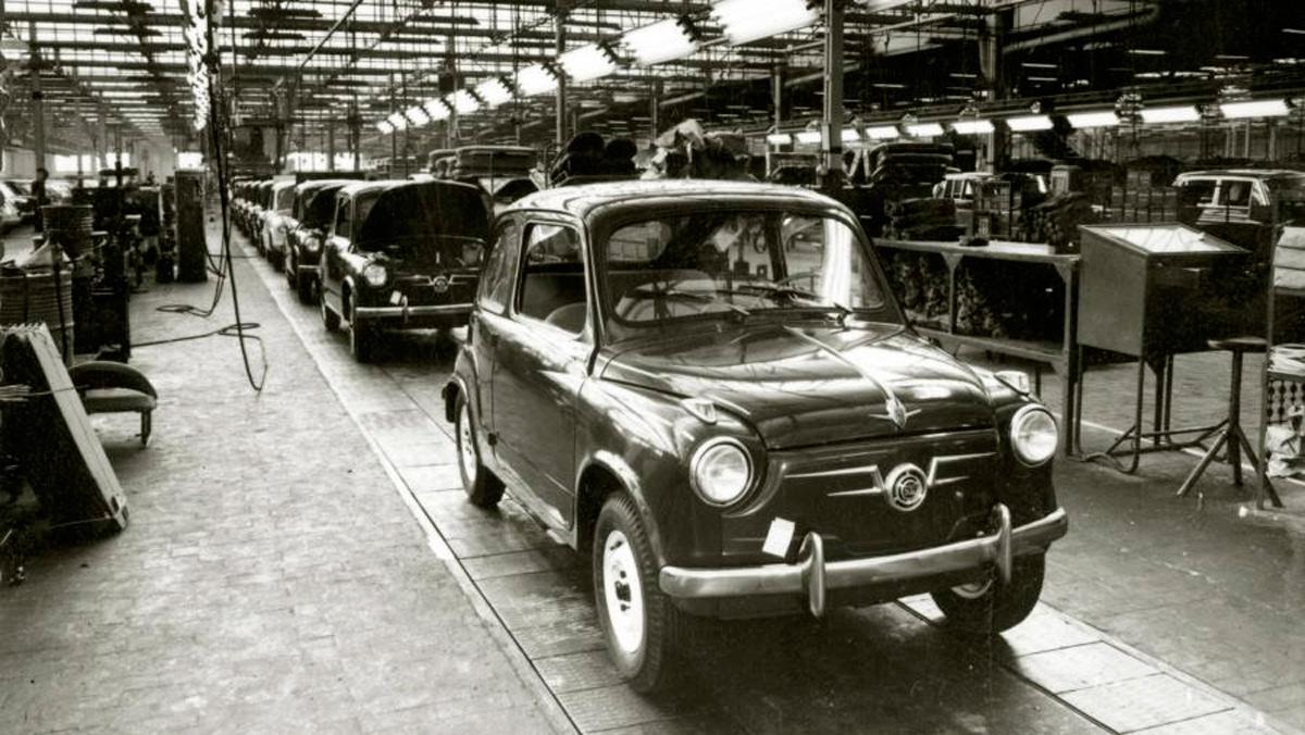 La historia del Seat 600 - Una producción creciente