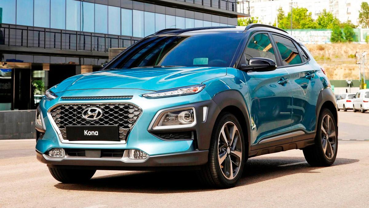 SUV pequeño Hyundai Kona