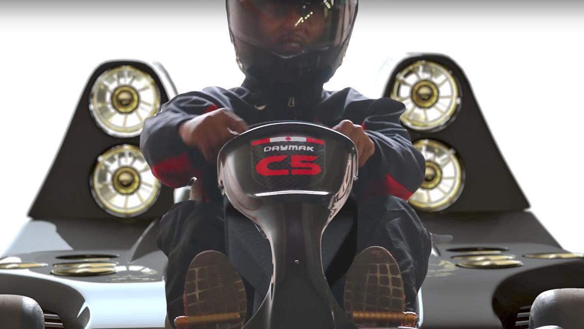 Daymak C5 Blast, el kart más rápido del mundo