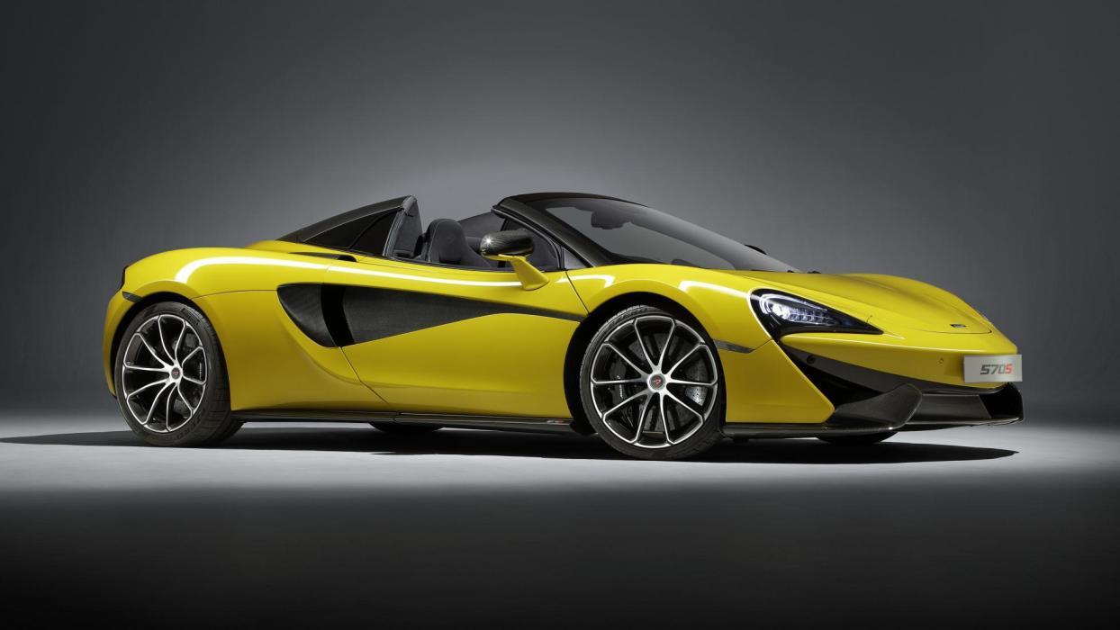 McLaren 570S Spider descapotable lujo deportivo