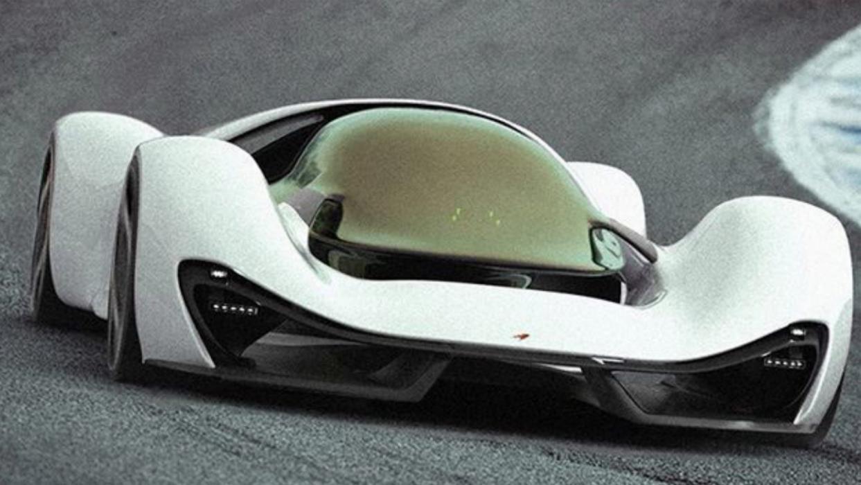 McLaren Hypercar Project