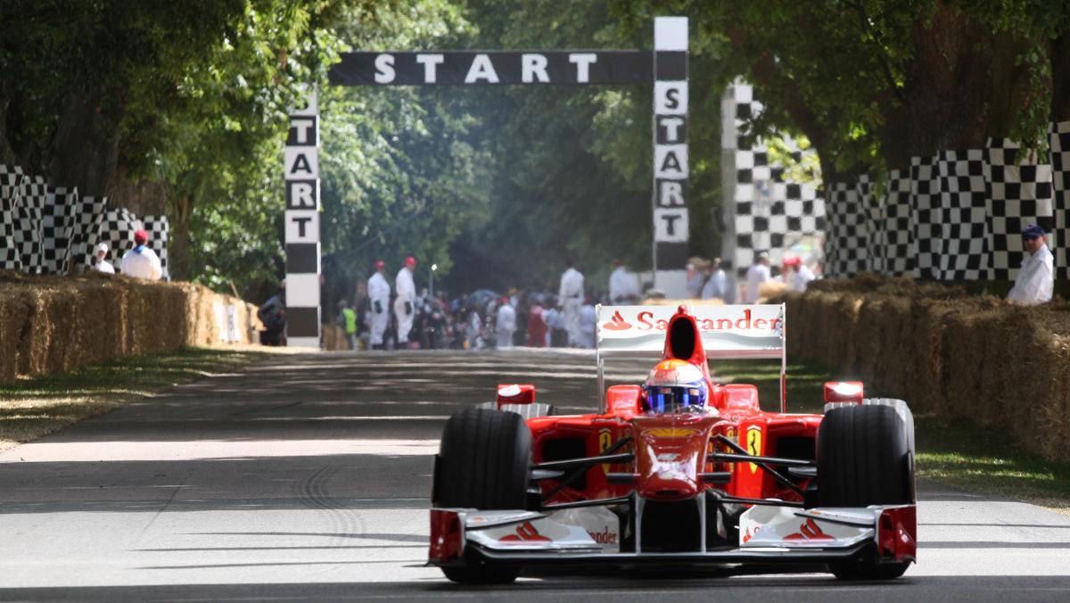 Los mejores F1 de Goodwood