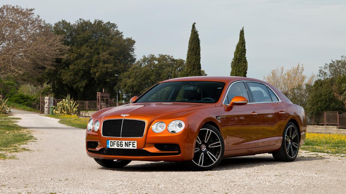 Prueba Bentley Flying Spur V8 S lujo berlina limusina